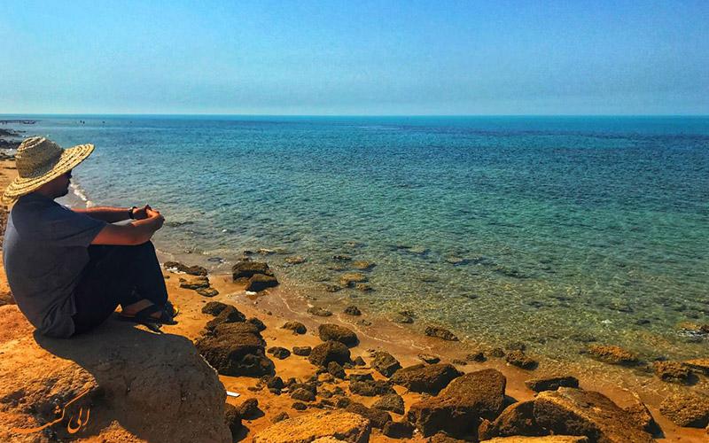ساحل زیبای بوشهر